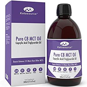 Premium C8 MCT Oil Ketosource®